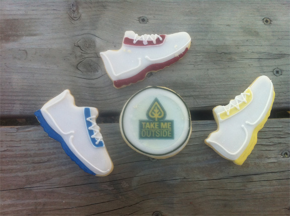 I posted this before... but in case you didn't see them...these are cookies that J Mac made for me! Amazing!!!!