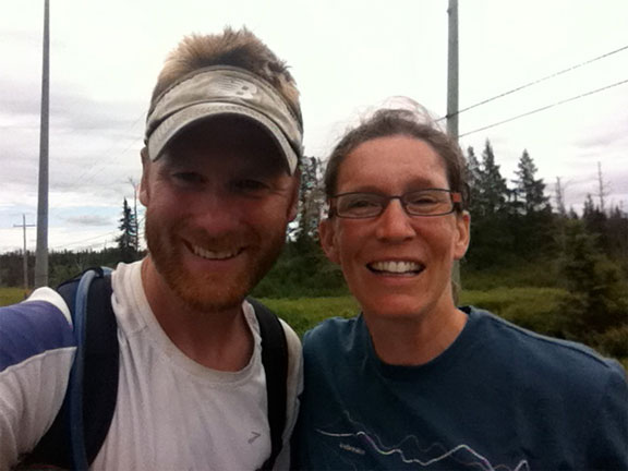 My friend Otto's partner Jen who found me on the TCH and said hi!