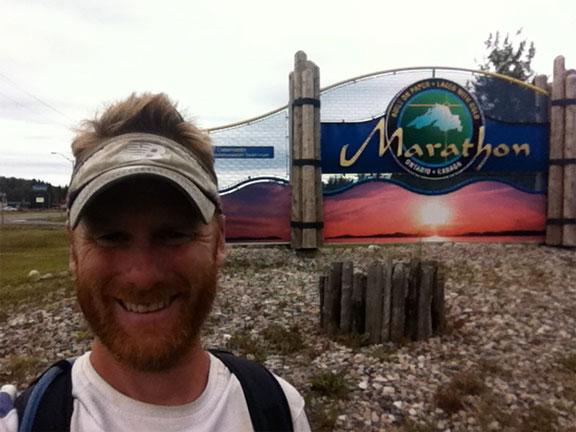 Made it... to Marathon!